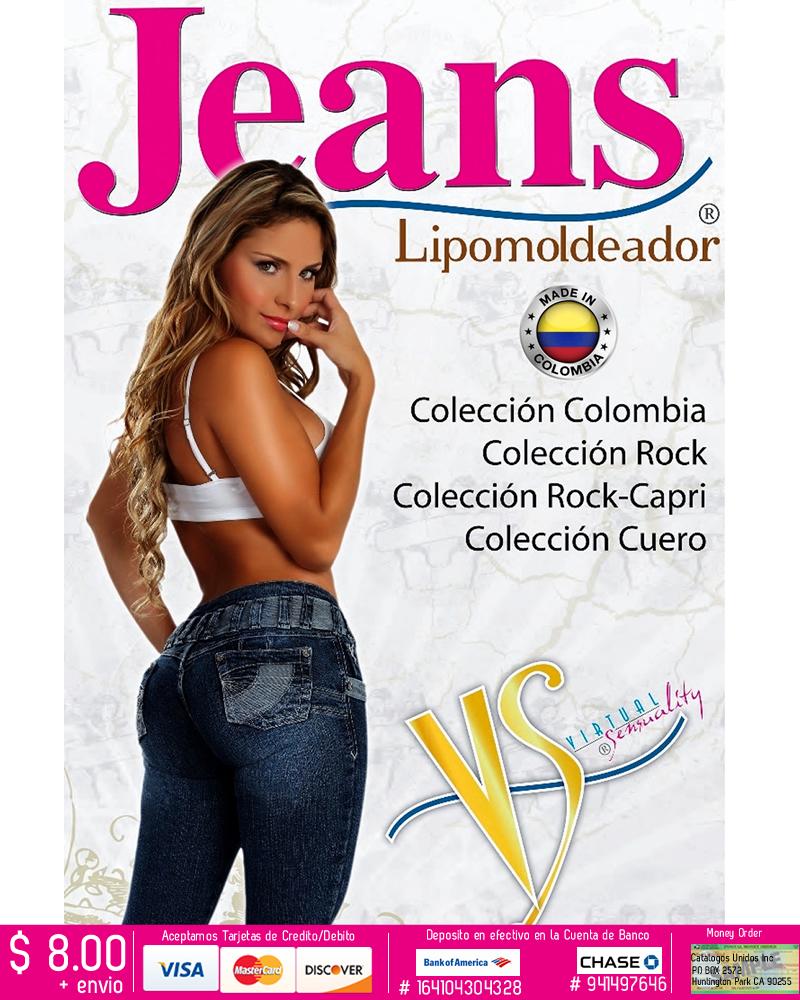 Jeans Levanta Cola
