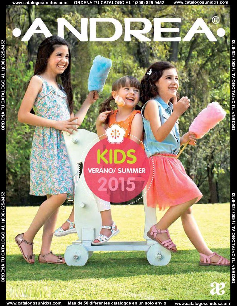 Catalogo Digital Andrea Ninas Verano 2015