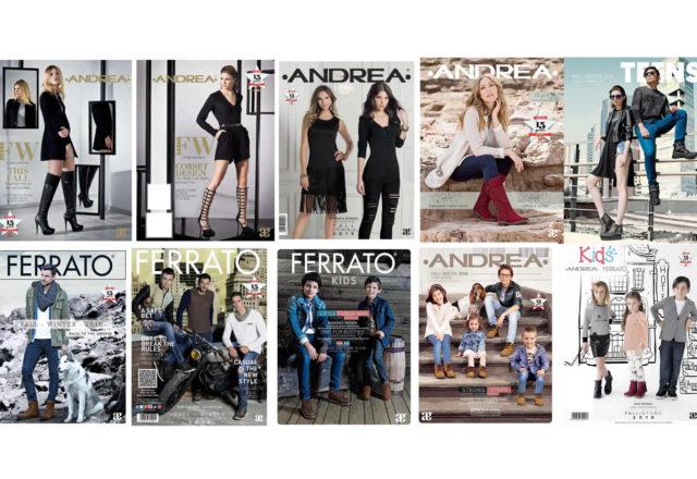 Catalogos Andrea 2016 - 2017