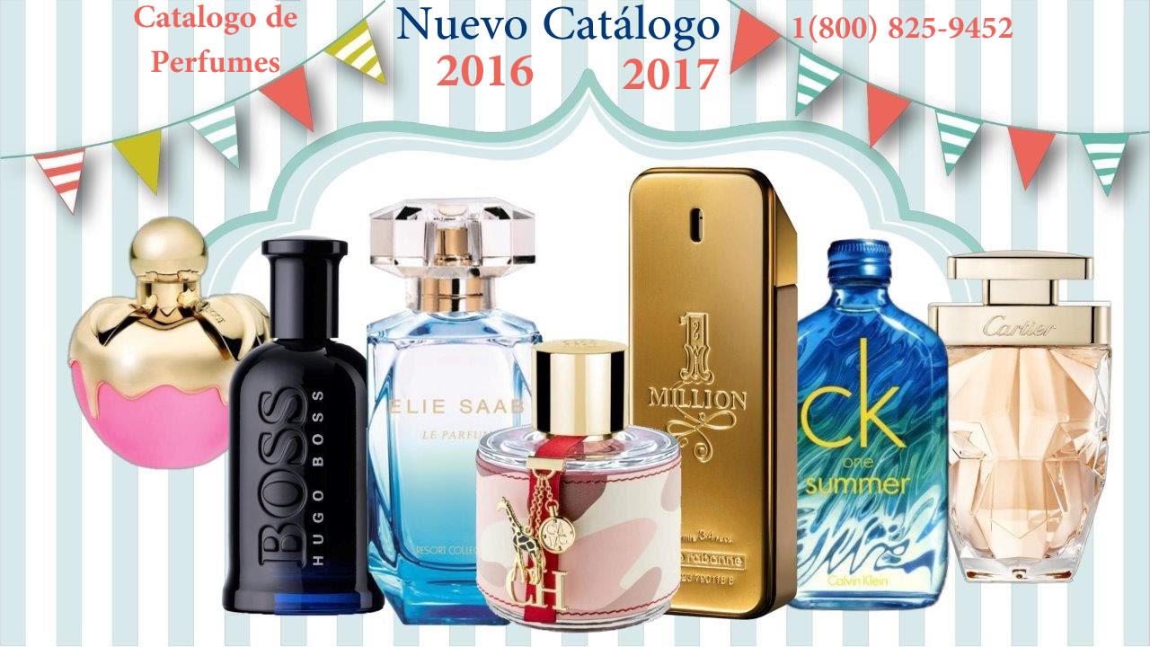 Catalogo de Pefumes