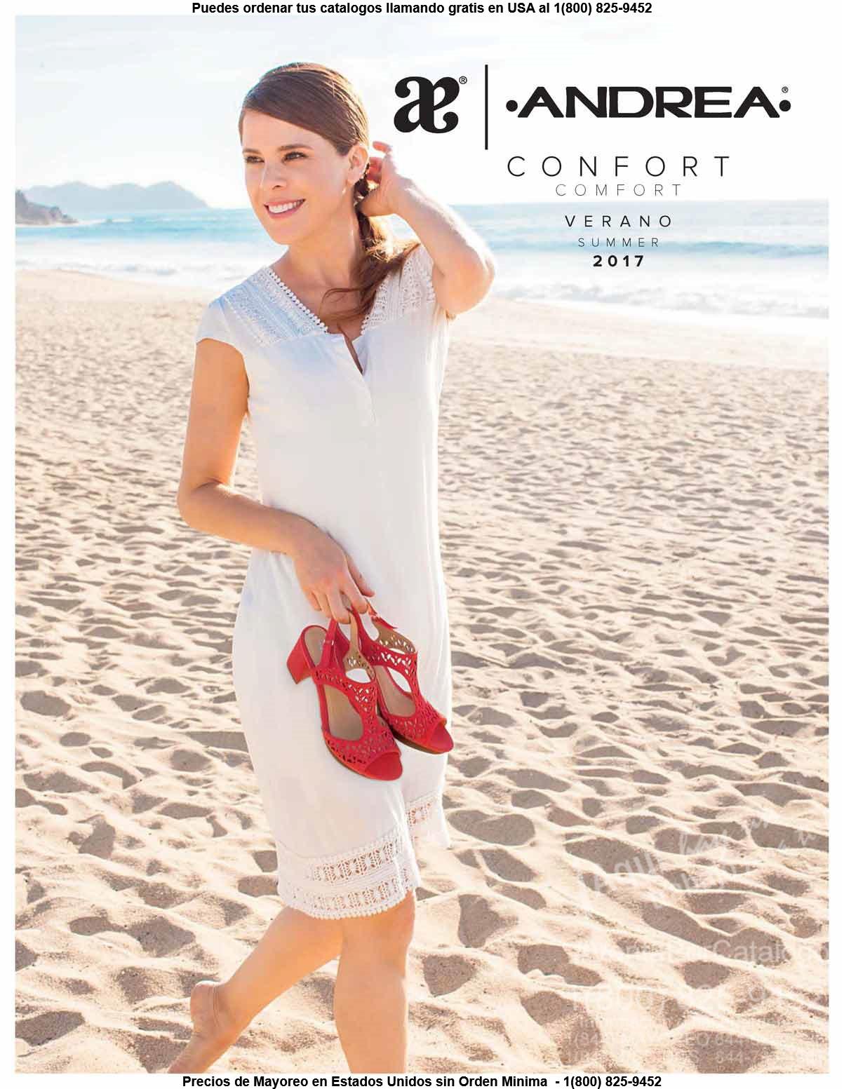 Nuevo catálogo Andrea Confort Verano 2017 para USA