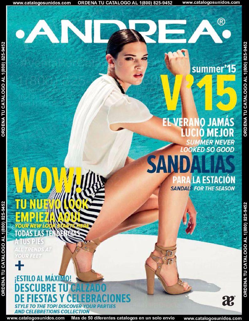 Catalogo Andrea Sandalia V'15