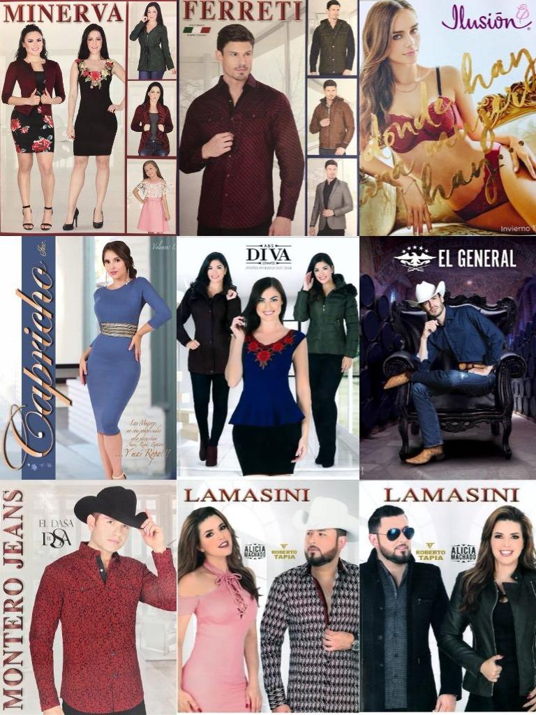 Nuevos Catalogos Lamasini, Adriana, Danesi, Montero, Diva, Ferreti, Minerva, Capricho, El General